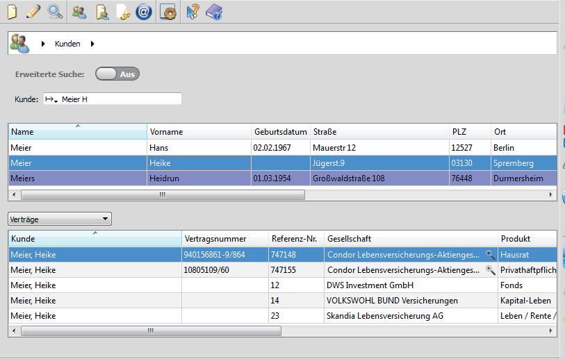 IWM-FinanzOffice Globale Suche
