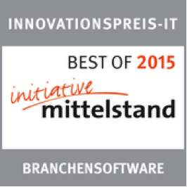 Best of 2015 Iniziative Mittelstand Branchensoftware